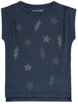 Zadig & Voltaire Sale - Sofia Stars and Lightning T-Shirt