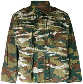 MHI short camouflage parka