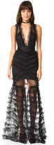Alice McCall All Black Everything Gown