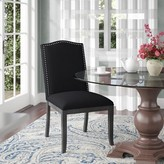 Parsons Upholstered Dining Chair Alcott Hill