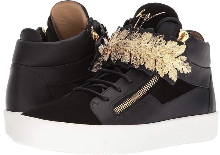 Giuseppe Zanotti May London Crown Mid Top Sneaker Men's Shoes