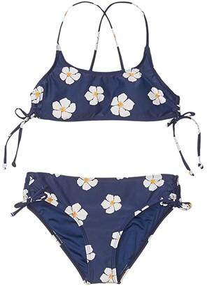 O'Neill Kids Tinley Bralette (Little Kids/Big Kids) (Navy) Girl's Swimwear Sets