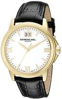 Raymond Weil Men's 5476-P-00307 Analog Display Quartz Black Watch
