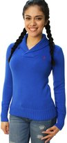 Ralph Lauren Sport Women Shawl Collar Pony Logo Sweater (S, )