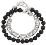 John Hardy Men's Classic Chain Double Wrap Bracelet