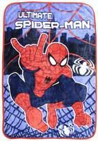 Marvel Ultimate Spiderman Spider-Man Plush Blanket Bedding Web