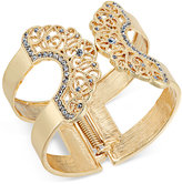 INC International Concepts Pavé Lace Hinged Cuff Bracelet, Only at Macy's
