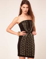 Club L Studded Bandeau Dress