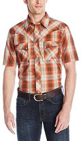 Wrangler Men's Western Jean Short Sleeve Shirt
