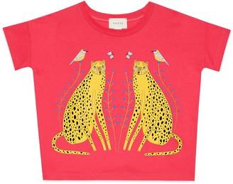 Gucci Children's Ashley Percival print T-shirt
