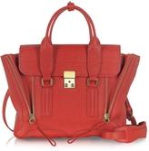 3.1 Phillip Lim Red Leather Pashli Medium Satchel