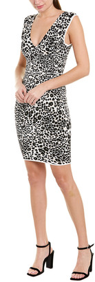 BCBGMAXAZRIA Printed Sheath Dress