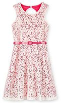 My Michelle Lace Overlay Dress - Girls 7-16