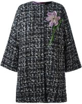 Dolce & Gabbana flower detail coat