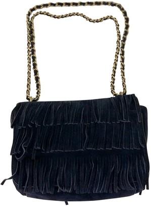 Tory Burch Blue Suede Handbags
