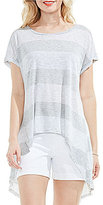 Vince Camuto Two by High Low Split Back Tee