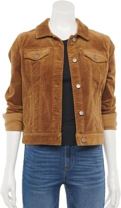 Mudd Juniors' Core Corduroy Jacket
