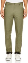 NATIVE YOUTH Contrast Cuff Slim Fit Chinos