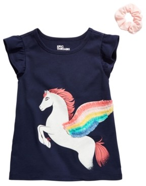 Epic Threads Toddler Girls 2-Pc. Pegasus T-Shirt & Scrunchie Set, Created for Macy's