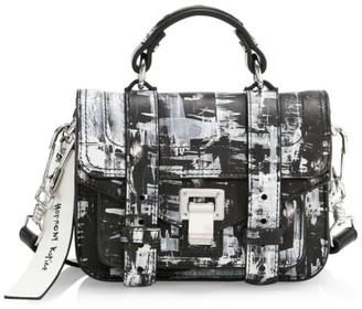Proenza Schouler x Harmony Korine Micro PS1 Leather Satchel