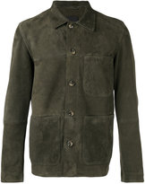 Closed patch pocket jacket - men - Lamb Skin - L