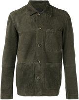 Closed patch pocket jacket - men - Lamb Skin - XL