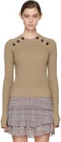 Etoile Isabel Marant Yellow Koyle Sweater