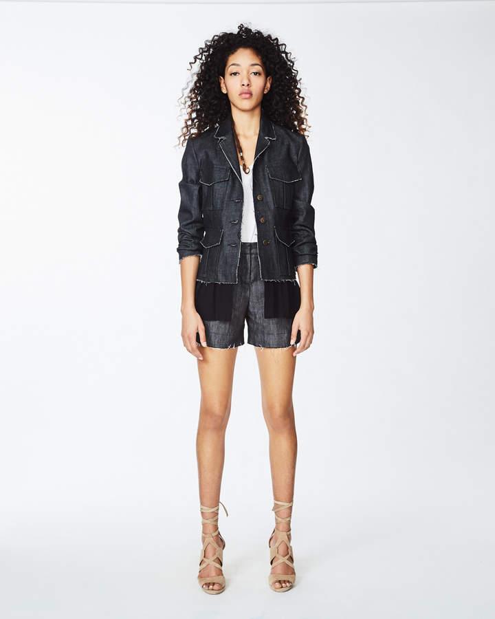 Nicole Miller Dark Denim Jacket