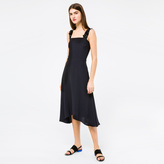 Paul Smith Women's Black Dress With Embellished Silk Straps
