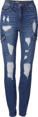 Dollhouse Women's Christina High Waist Skinny Jean