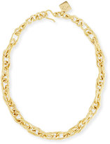 Ashley Pittman Saka Bronze Chain Link Necklace