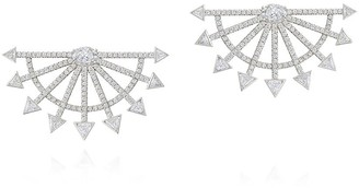 Sauer Arrow Diamond Earrings