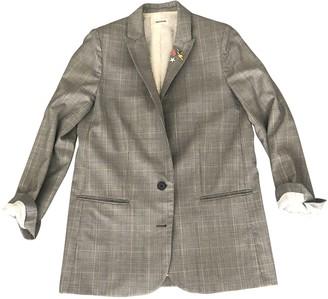 Zadig & Voltaire Grey Wool Jacket for Women