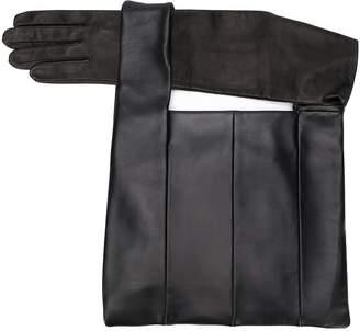 Kara integrated-glove tote bag