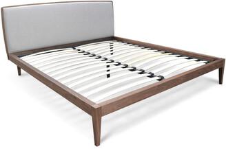 Calibre Furniture Bayside Bed Queen Walnut