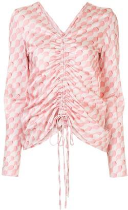 Maggie Marilyn Drawn To Me drawstring blouse