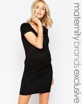Mama Licious Mama.licious Mamalicious Nursing Body-Conscious Dress