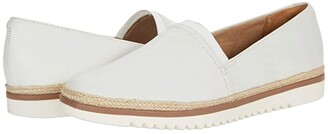 Clarks Serena Paige (White Leather) Women's Shoes