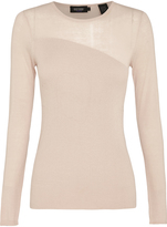 Oxford Kendall Sheer Knit Nude X