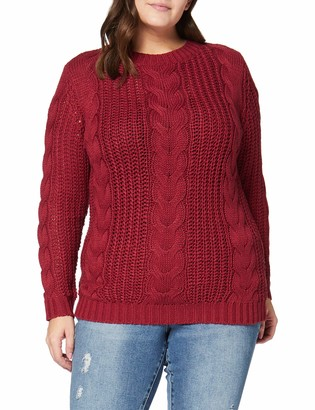 Junarose Women's Jrbetty Ls Knit Pullover-S Jumper