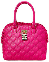 Betsey Johnson Be My Frills Dome Satchel
