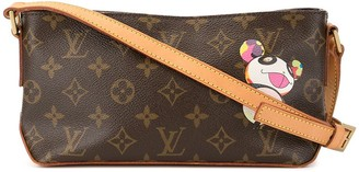 Louis Vuitton x Takashi Murakami 2004 pre-owned Panda Trotteur crossbody bag