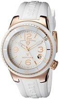 Swiss Legend Women's 11840P-RG-02-WHT Neptune White Dial White Silicone Watch