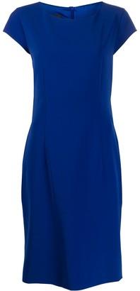 Moschino plain shift dress