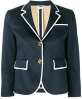 Thom Browne piped trim blazer