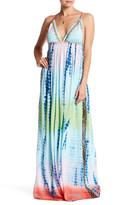 Letarte Long Smocked Waist Silk Dress