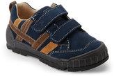 Naturino Toddler Boys) Navy & Brown Kip Sneakers