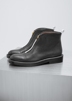 Marni Black / Limestone Ankle Boot