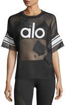 Alo Yoga Yoga Jersey Short-Sleeve Top