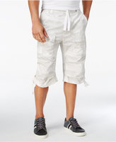 Sean John Men's Camo-Print Flight Cargo Shorts, Only at Macy's
